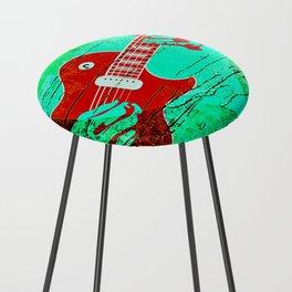 Guitar Love Counter Stool