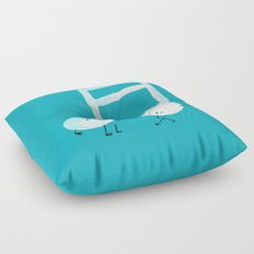 Our Song Floor Pillow