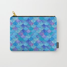 Mermaid Scale Carry-All Pouch