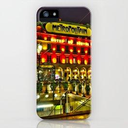 Metropolitan Palais Royal - Musée du Louvre iPhone Case