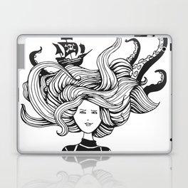 Sea Battle Hair Laptop & iPad Skin