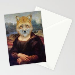 Foxy Mona Stationery Cards