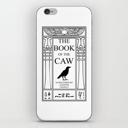 The Book of the Caw iPhone Skin