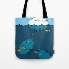 Sinking Sheep Tote Bag