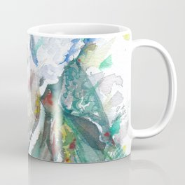 ELIZABETH CADY STANTON watercolor portrait Coffee Mug
