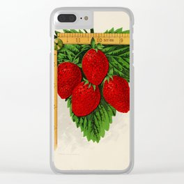 Canadian Horticulturalist 1888-96 - Parker Earle Strawberries Clear iPhone Case