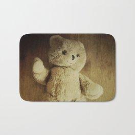 Old Teddy Bear Bath Mat