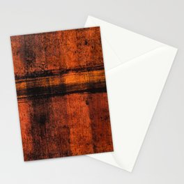 Pathway (Rust Abstract) Stationery Cards