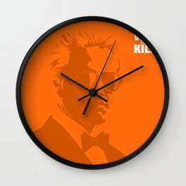 A View To A Kill Wall Clock