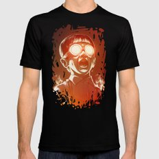 FIREEE! LARGE Mens Fitted Tee Black