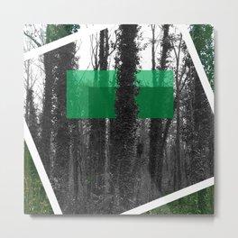 Modern Forest Metal Print