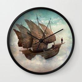 Flying Merchant Wall Clock