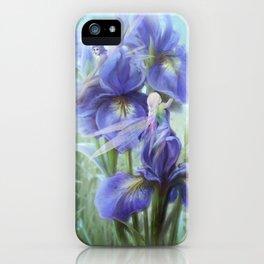 Imagine - Fantasy iris fairies iPhone Case