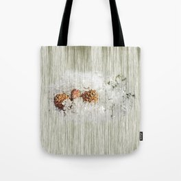 Frosty bed Tote Bag