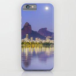 Blue Moon II, Rio de Janeiro iPhone Case
