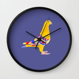Colombian pigeon Wall Clock