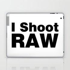 Photography - I Shoot RAW (white) Laptop & iPad Skin