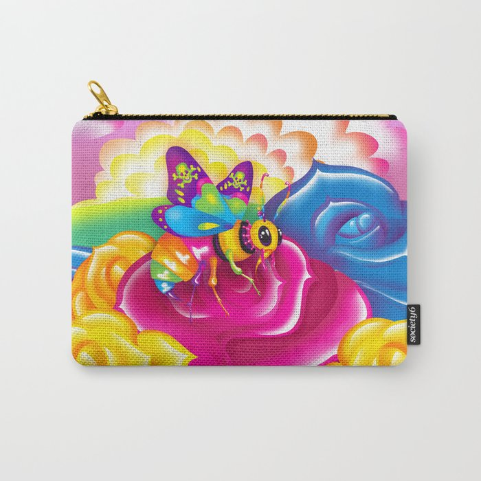 1997 Neon Rainbow Beelzebub Carry-All Pouch