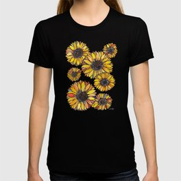 Sunflower Blooms – Yellow T-shirt