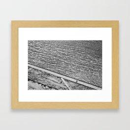 Lines of Quebec Framed Art Print