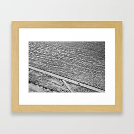 Lines of Quebec Framed Art Print