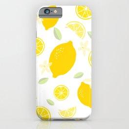 Lemon Blossom iPhone Case