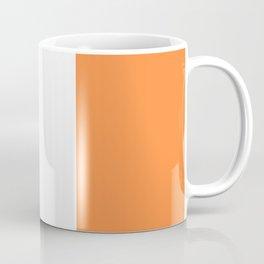 Irish Tricolour Green Orange and White Irish Flag Coffee Mug