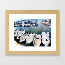Watercolour  Framed Art Print