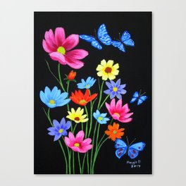 Wildflowers-3 Canvas Print