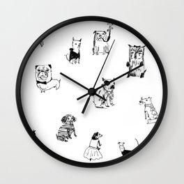 Stylish Pets Wall Clock