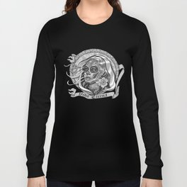 Black and White Catrina (Day of the Dead) Long Sleeve T-shirt