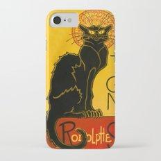 Le Chat Noir The Black Cat Art Nouveau iPhone 7 Slim Case