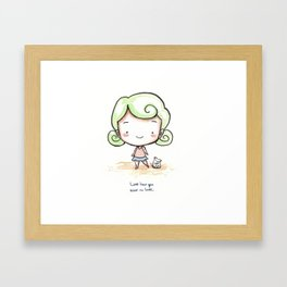 Love How You Want to Love Framed Art Print