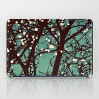 night iPad Cases featuring Night Lights by elle moss