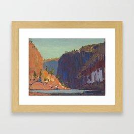 Tom Thomson Petawawa Gorges Canadian Landscape Artist Framed Art Print