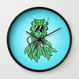 Jelly Fish - Mr Green in the Sea Wall Clock