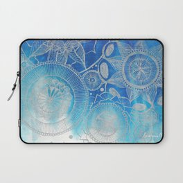 Mandala Hand drawn illustration art Laptop Sleeve