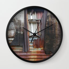 Shelter is a Human Need Wall Clock
