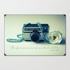 Instamatic Photography Canvas Print