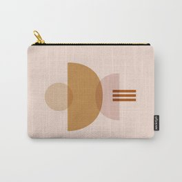 Amber Abstract Half Moon 3 Carry-All Pouch