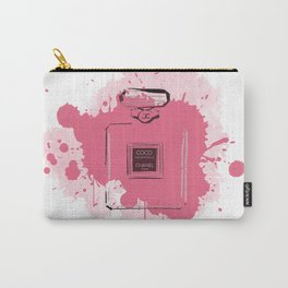Pink Perfume Carry-All Pouch