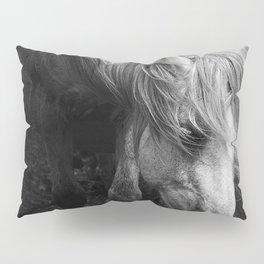 Pregnant Dartmoor Pony Mare Pillow Sham