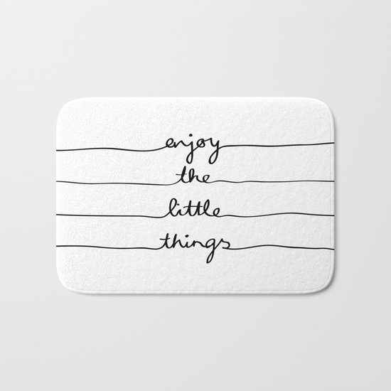 Little Things Bath Mat