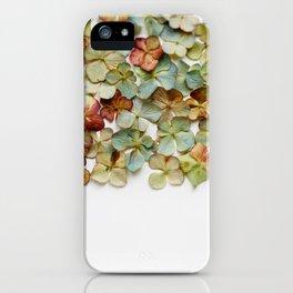 Hydrangea Petals no. 2 iPhone Case