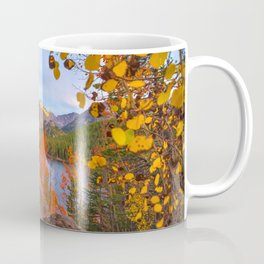 Fall In The Rocky Mountains Coffee Mug