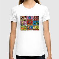 keith haring T-shirts featuring Haring - étoiles W. by Krikoui