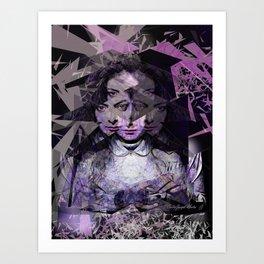 Lorde Art Print
