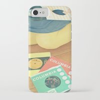 vinyl iPhone & iPod Cases featuring Vinyl by Cassia Beck