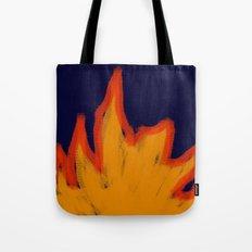Primitive Fire - Navy Tote Bag