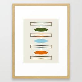 Mid-Century Modern Art 1.2 Framed Art Print